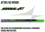 UST Mamiya Attas 4U Wood Shaft