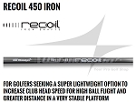 .370 Parallel Tip - UST Mamiya Recoil 450 ES Iron Shaft