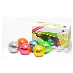 Chromax Six Pack Mixed Color Golf Balls