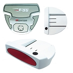 Heater F-35 White Ghost Mallet Putter - Component Head