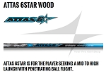 UST Mamiya Attas 6STAR Wood Shaft