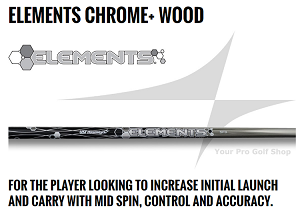 UST Mamiya Elements Chrome + Woods