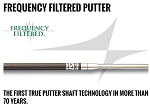 UST Mamiya Frequency Filtered Putter Shafts