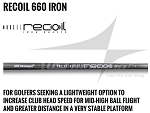 370 Parallel Tip - UST Mamiya Recoil 660 Iron Shafts
