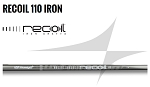 UST Mamiya Recoil 110 .355 Taper Tip Iron Shafts