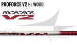 2018 UST Mamiya Proforce V2 High Launch Woods Shafts