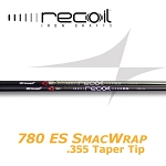 355 Taper Tip - UST Mamiya Recoil 780 ES SMACWRAP Iron - Ion Plated or Black