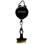 EZ Brush Golf Club Brush with Retractable Cord
