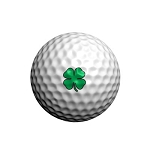 GolfDotz EZ ID For Golf Balls Lucky Clovers - 32 per pack
