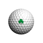 GolfDotz EZ ID For Golf Balls Shamrocks - 32 per pack