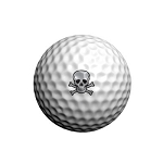 GolfDotz EZ ID For Golf Balls Skullmania - 24 per pack