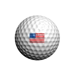 GolfDotz EZ ID For Golf Balls USA Flags - 32 per pack