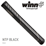 Winn NTP Black Pistol 1.10 Putter Grip - No Taper Pistol Midsize+