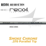 370 Parallel Tip - UST Mamiya Recoil Smoke Chrome Iron Shafts