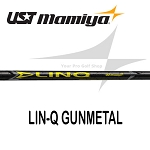 UST Mamiya LIN-Q Gunmetal Wood Shafts