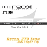 355 Taper Tip - UST Mamiya Recoil ZT9 Iron Shafts