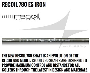 0.370 Parallel Tip - UST Mamiya Recoil 780 ES Iron Shafts