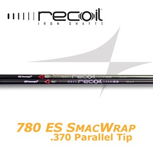 370 Parallel Tip - UST Mamiya Recoil 780 ES SMACWRAP Iron - IP or Black