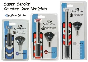 Super Stroke Counter Core Weight 25g 50g 75g