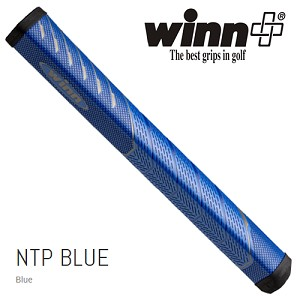 New For 2019 - Winn NTP Blue Pistol 1.10 Putter Grip - No Taper Pistol Midsize+