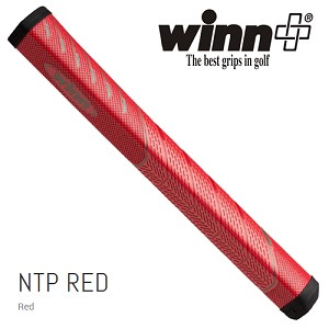 Winn NTP Red Pistol 1.10 Putter Grip - No Taper Pistol Midsize+