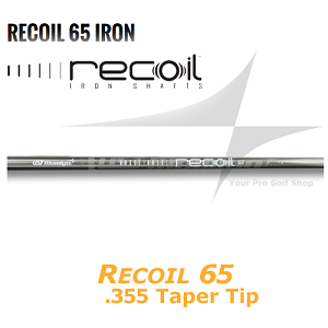 UST Mamiya Recoil 65 .355 Taper Tip Iron Shafts