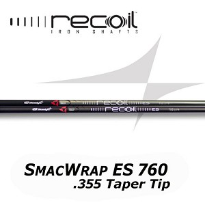 355 Taper Tip - UST Mamiya Recoil 760 ES SMACWRAP Iron - Ion Plated or Black